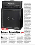 Armageddon Guitarist Review