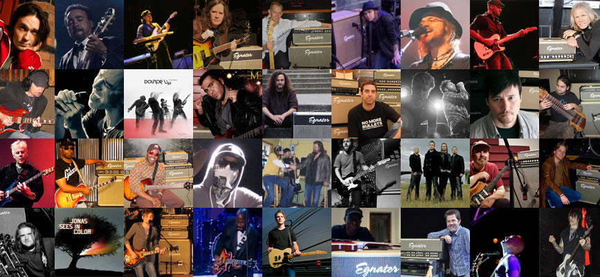 Egnater Amplification Endorsed Artists