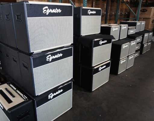 Egnater Amplification factory
